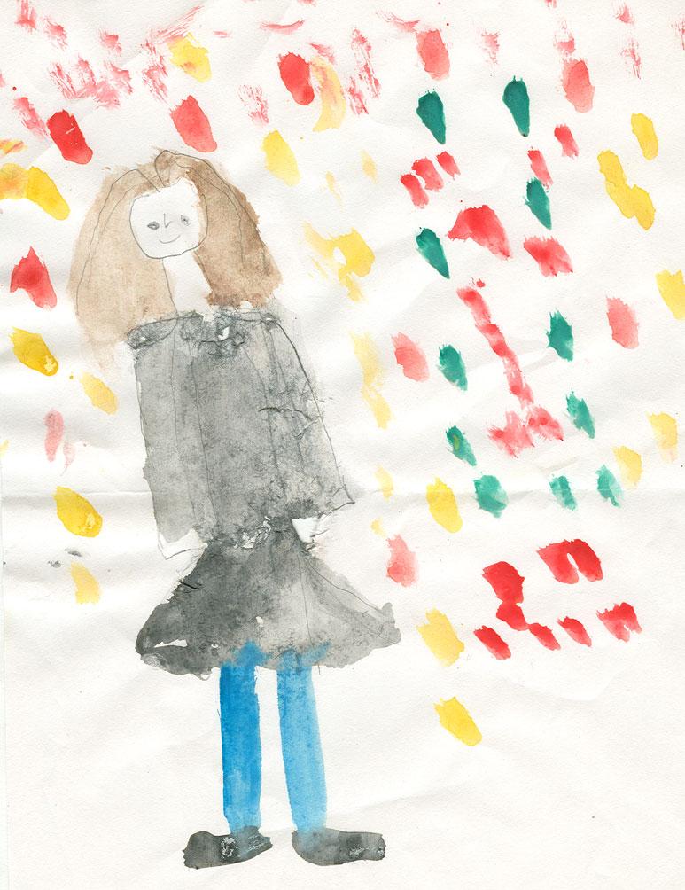 рисунки 4 года: