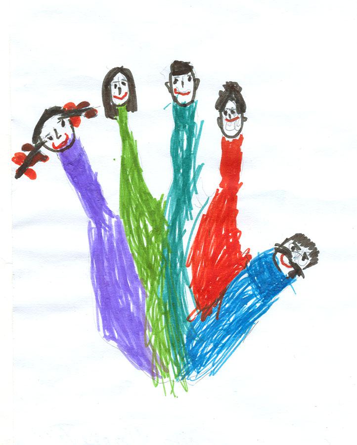 Рисунки картинки моя семья